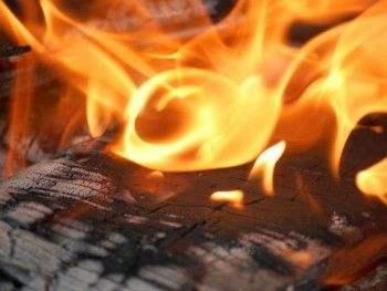 В Нижнем Тагиле пожар уничтожил пилораму