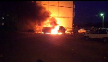 В Нижнем Тагиле минувшей ночью сгорели Geely и Skoda