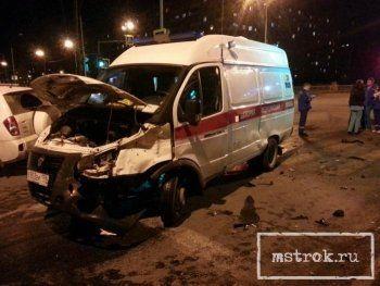 В Нижнем Тагиле врачи скорой помощи пострадали в ДТП (ФОТО)