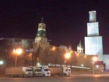 «Выгоню фуру на Красную площадь и сожгу её там». Протестующие дальнобойщики перекрыли МКАД