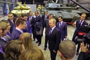 Путин и Куйвашев договорились вернуть налоги «Уралвагонзавода» в Свердловскую область