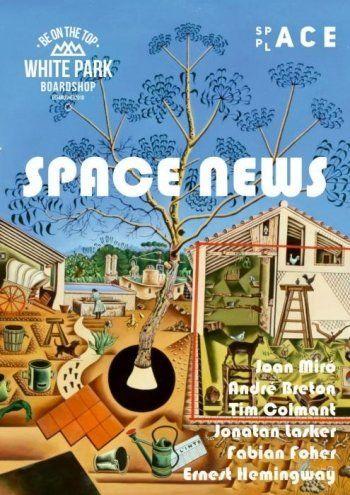 «Квинтэссенция современного искусства». Главный редактор Space News Евгений Комухин о выходе нового журнала