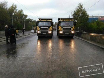 Мост на Фрунзе через реку Тагил прошёл статические испытания