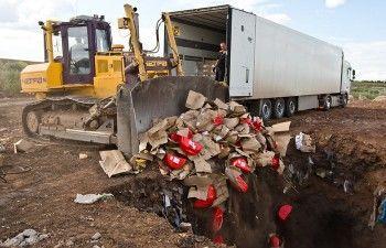 В России уничтожили 654 тонны «санкционных» продуктов