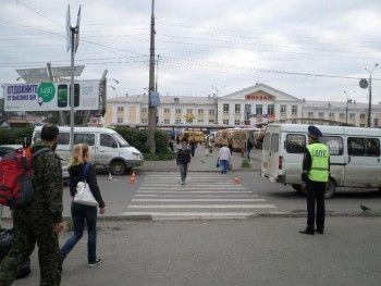 В Нижнем Тагиле около вокзала Volkswagen сбил пенсионерку на «зебре»