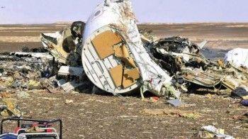 Спутник зафиксировал тепловую вспышку перед падением российского самолёта в Египте