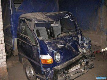 На трассе Екатеринбург – Серов водитель Hyundai уснул за рулём и врезался в МАЗ