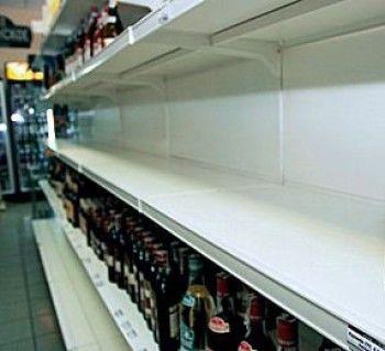 Вслед за сигаретами с полок магазинов исчезнет алкоголь