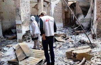 Анкара обвинила Москву в разрушении сирийской больницы