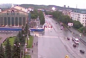 Молния, которая вывела из строя подстанцию и оставила без света центр Нижнего Тагила, попала на видео (ВИДЕО)