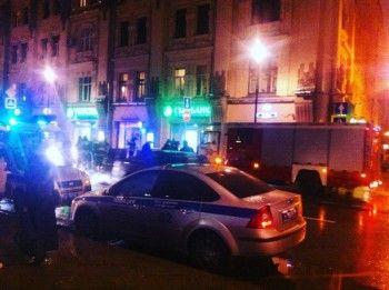 От взрыва в центре Москвы пострадали четыре человека