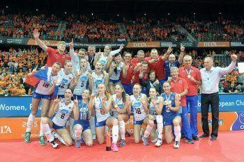 Волейболистки «Уралочки-НТМК» стали чемпионками Европы