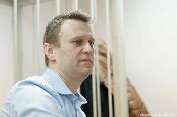 Полиция задержала оппозиционера Алексея Навального сразу после эфира на «Эхо Москвы»