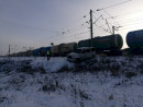 В Свердловской области пьяный водитель врезался в локомотив