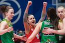 «Уралочка-НТМК» обыграла белорусскую «Минчанку» в финальной стадии чемпионата