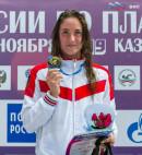 Воспитанница нижнетагильского «Спутника» поставила рекорд России по плаванию на дистанции 1500 метров вольным стилем