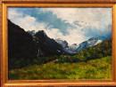 Уральские горы и цветы представлены на выставке Натальи Деменцевой в кинотеатре «Красногвардеец»