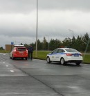 В Татарстане сотрудники ГИБДД остановили беспилотник «Яндекса»