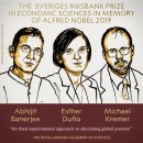 Нобелевскую премию поэкономике получили учёные, занимающиеся борьбой с бедностью